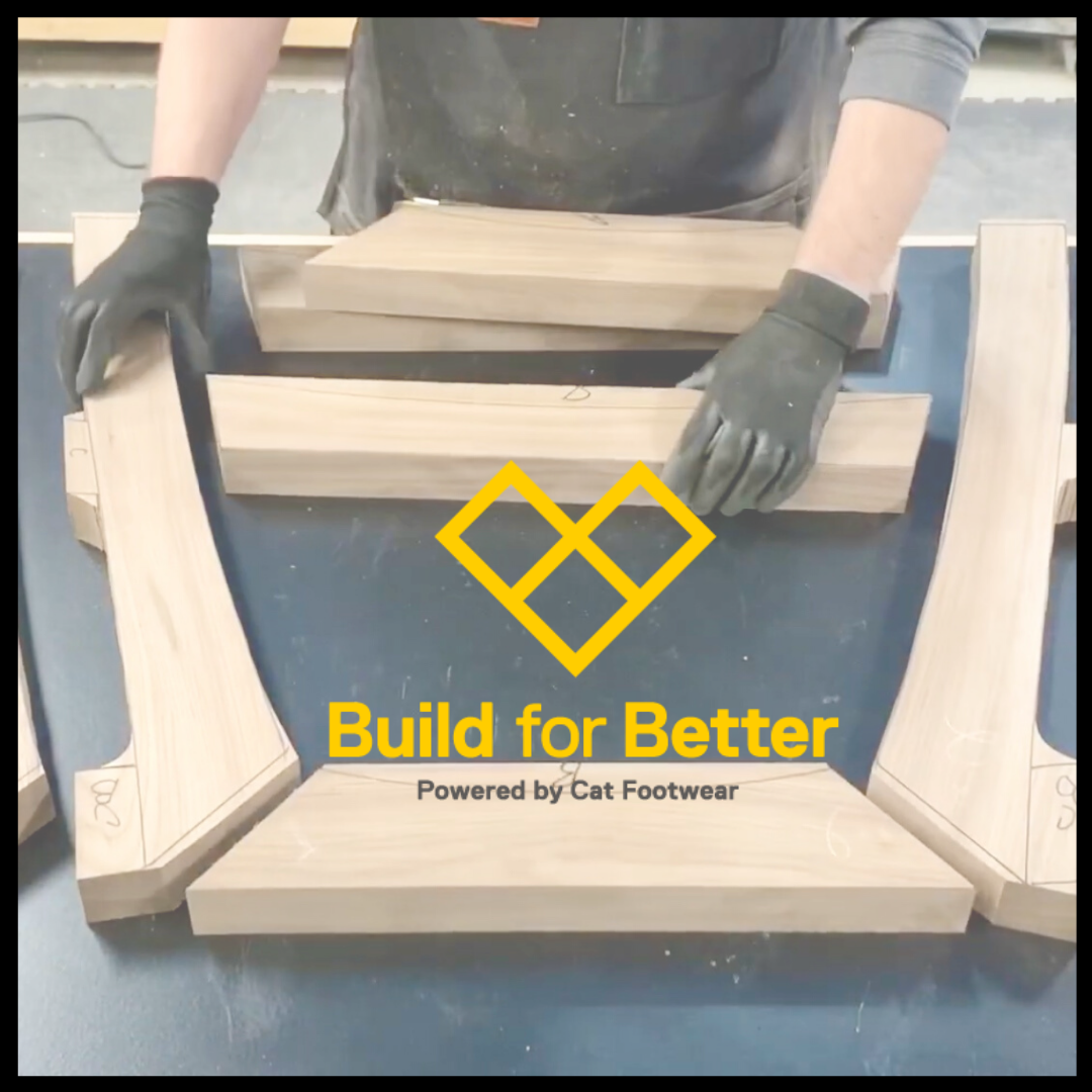 Build for Better with Cat® Footwear